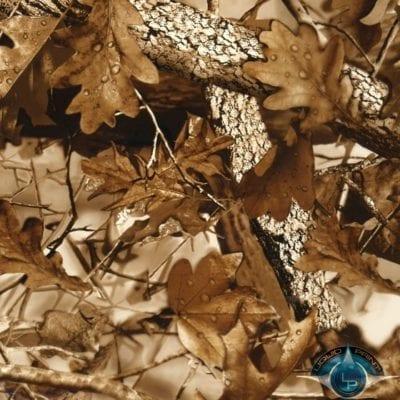 Fall Leaves Brown Film-HC-2-13