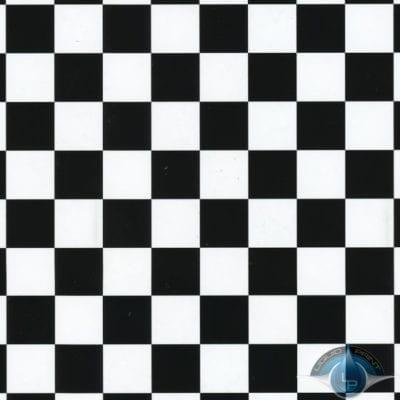 Black Checker on Clear Film-LL-691