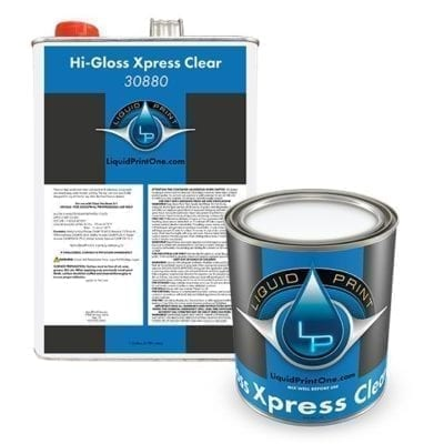 Hi-Gloss Xpress Clear - Group