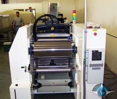LP 3DAT-500 Rollers Front View Automatic Printing Machine