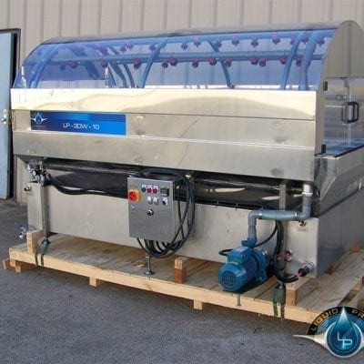 LP-3DWA-10 Side Production Washing System