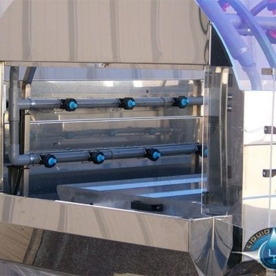 LP-3DWA-10 Doors Open Production Washing System