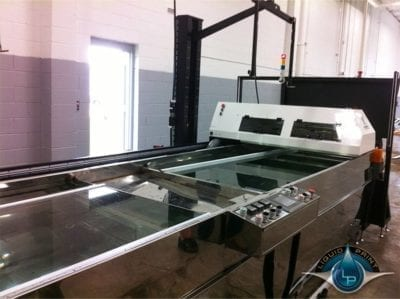 LP 4DT-27-AP Dipping Arms Automated shuttle system
