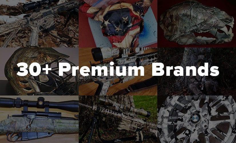 30+ Permium BrandsBrands